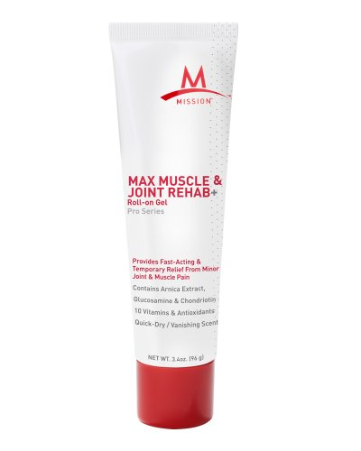 Mission Athletecare Max Muscle And Joint Rehab - 3.4 Oz.