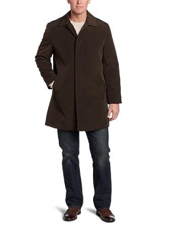 (疯抢)Kenneth Cole Men's Romeo-2 Raincoat 凯斯柯尔男士长风衣棕色$74.4