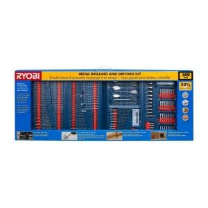 RYOBI 300-Pieces Mega Drill and Drive Set (Mega Drill compare prices)