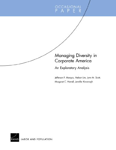 Managing Diversity in Corporate America: An Exploratory Analysis (Occasional Papers)