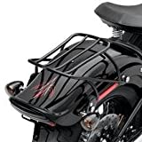 H-D Softail Detachable Solo Rack - Gloss Black 53612-08