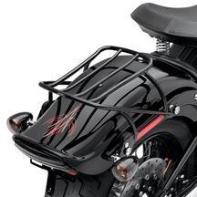 H-D Softail Detachable Solo Rack - Gloss Black 53612-08