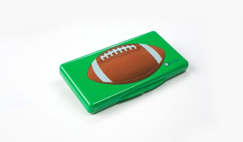 Uber Mom Wipebox, Green Football