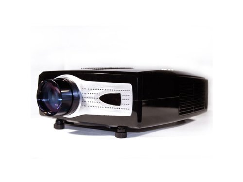 VVME V01 LED HDMI Projector 1080p HD Compatible (Native VGA 640 x 480) For Home Cinema, Movie, Video Games