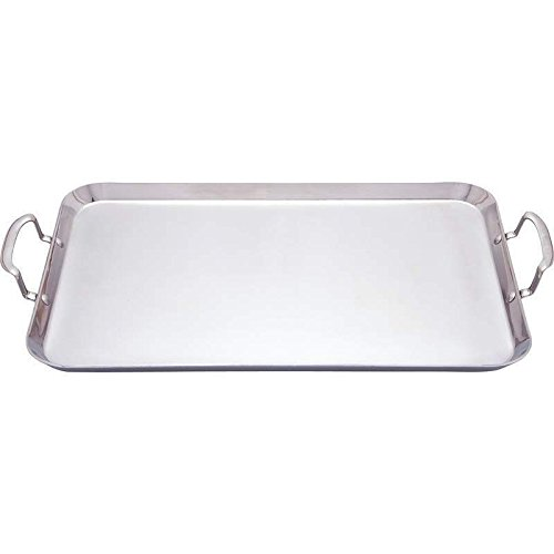 Chefs Secret 3 Ply T304 Stainless Steel Double Griddle 18 1/8
