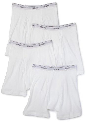 Hanes Men's Classics Boxer Brief (Pack of 4)