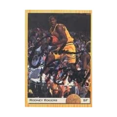 Rodney Rogers Denver Nuggets 1993 Classic Draft Picks Autographed Hand Signed Trading...
