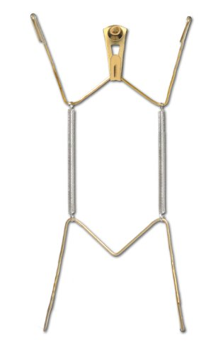 OOK 50472 Deluxe Plate Hanger with Steel Pro Supports Up to 30 Pounds, 10-Inch to 14-Inch