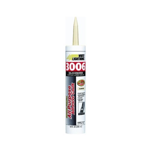 white-lightning-products-1010-3006-siliconized-all-purpose-acrylic-latex-adhesive-caulk-almond-by-wh