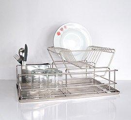 Filinox escurreplatos elegance 2 pisos acero inoxidable hogar - Escurreplatos acero inoxidable ...