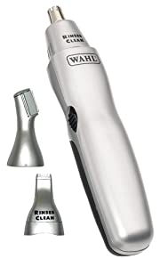 Wahl 5545-427 3-in-1 Nose Ear and Eyebrow Hair Battery Trimmer