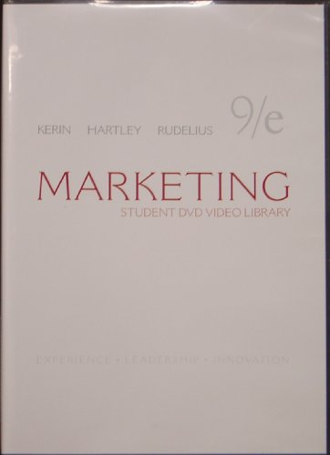 Student DVD Video Library t/a Marketing 9th edition (Experience, Leadership, Innovation)