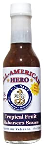 All-American Hero Hot Sauce U.S. Navy by All-American Hero BBQ, LLC