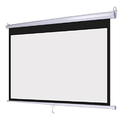 White 119″ 84″x84″ Pull Down Projector/Projection Screen