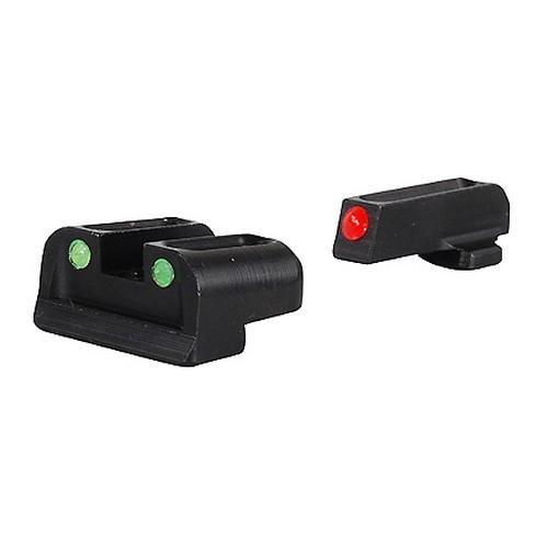 Truglo Fiber Optic Handgun Sight Set - Sf Xd, Red/Green