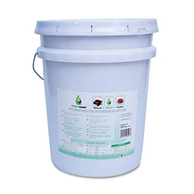 Creates a cleaner, safer workplace. - BCG, INC. * Eco-Friendly Sorbent, Clay, 25lb Bucket (Bcg Cleaner compare prices)