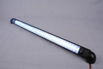 led bar light pivoting water proof 18 lamp 12 volt. Black Bedroom Furniture Sets. Home Design Ideas