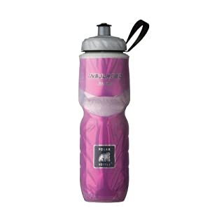 Polar Bottle Insulated Water Bottle (24-Ounce, Pink)