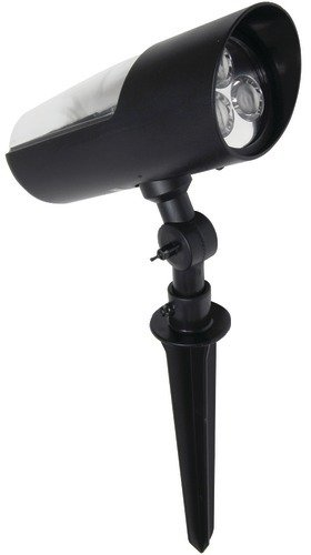 Brinkmann - Solar Bullet Spotlight *** Product Description: Brinkmann - Solar Bullet Spotlight Solar Bullet Spotlight Constructed Of Weather-Resistant Plastic 3 White Led Bulbs Rechargeable Nicd Battery Black Plastic Finish ***