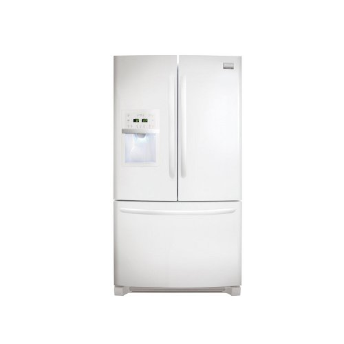 Frigidaire FGUB2642L Energy Star 25.8 Cubic Foot French Door Refrigerator with SpaceWise Organization