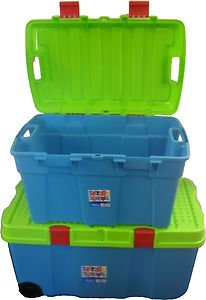 Kids Treasure Chest - Large - Assorted Colours