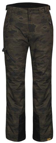 ICEPEAK, Pantalone imbottito Uomo Jonne, Verde (Dunkel Olivgrün (580)), 46