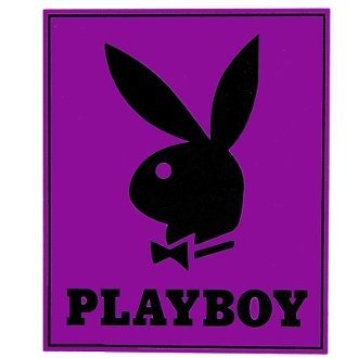 Playboy Bunny Head with Tuxedo Covertures Blanket Throw