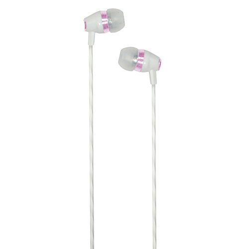 Casotec C04WH In-Ear Earphones Headphone Hands-free with Mic for All 3.5mm Supported Mobile & Gadgets - White