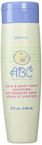 Arbonne Baby Care (ABC) Hair & Body Wash Solution, 8 oz. - 1