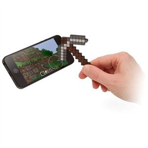 Minecraft Pickaxe Touchscreen Stylus by ThinkGeek