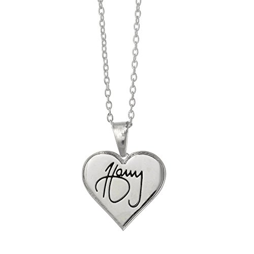 One Direction 'Harry Signature' Heart Necklace (Style Directions For Women compare prices)