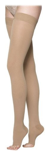 860-select-comfort-series-20-30-mmhg-open-toe-unisex-thigh-high-sock-size-s4-by-sigvaris