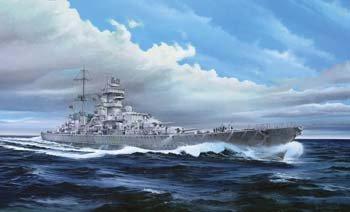 1/350 Prinz Eugen Cruiser, 1945