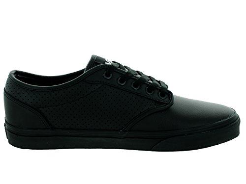 e3a6bf5b0dd71 Vans Men's Atwood (Perf Leather) Black/Black Skate Shoe 10.5 Men US |  $79.99 - Buy today!