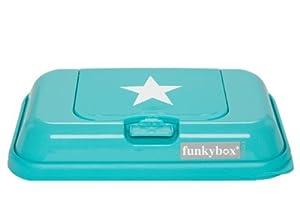 FUNKY BOX ToGo Caja Porta Toallitas Húmedas (Aqua Star)
