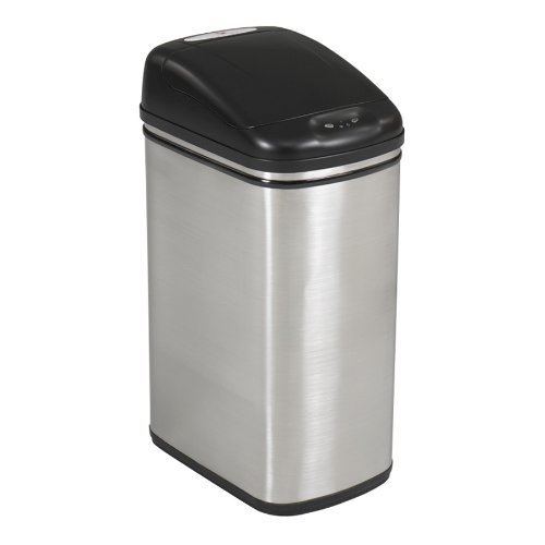 Safco Products Kazaam  Can-8.5 gal, Stainless Steel (9761SS)