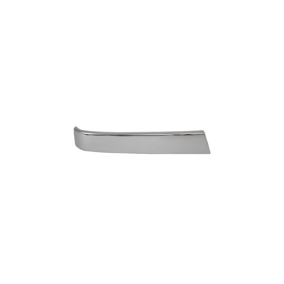 CarPartsDepot, Front Bumper Grille Chrome Molding Right (Passenger Side) Assembly, 402 15135 02 GM1213105 10397972
