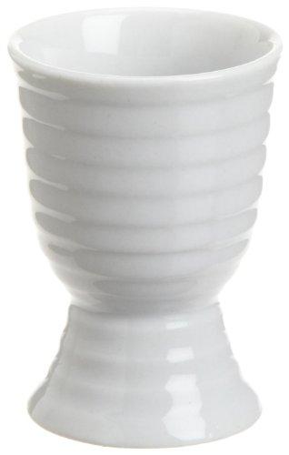 Kuchenprofi White Porcelain Egg Cup, 2-Inch by 2-3/4-Inch, Set of 6