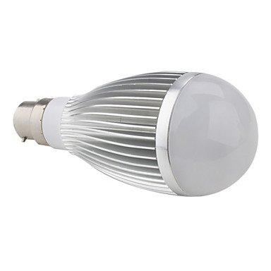 Led Bulbs - B22 7W Warm White Led Ball Bulb (95-265V)