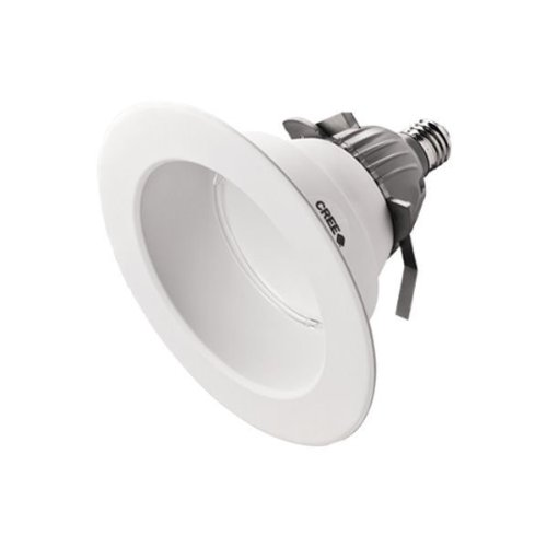 800 Lumens - 90W Equal - 12W Led - Medium Base - Downlight - Fits 6 In. Can Light - Cool White Color - 90 Cri - Cree Cr6-800L-40K-12-E26