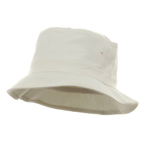 Decky Fishing Hats (03)-White for Hiking Camping Golf Sun Block W12S44C L/XL