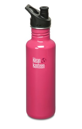 Klean Kanteen Stainless Steel Bottle with 3.0 Sport Cap