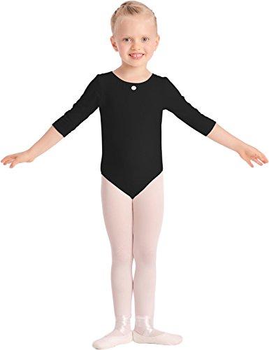 3/4 kurzarm Mädchen Ballettanzug Klassischen Body, verschiedene Farben 2001