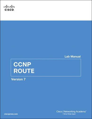 CCNP ROUTE Lab Manual (Lab Companion)