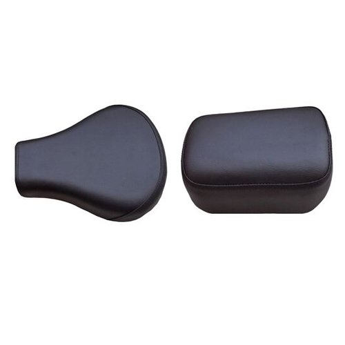 BikenWear Seat-Cover-3 Seat Cover For Royal Enfield Classic 350(Black)