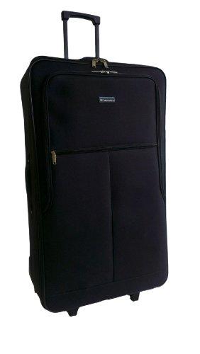 """Ultra léger bagage à main Valise de protection Noir Valise à roulettes, 31"""" 5052311142516"""
