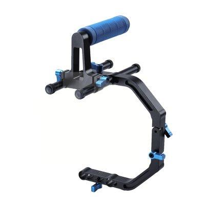Canon PowerShot SX260 HS Vertical Shoe Mount Stabilizer Handle Pro Video Stabilizing Handle Grip for