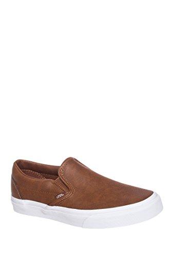 Men's Leather Classic Slip-On Sneaker