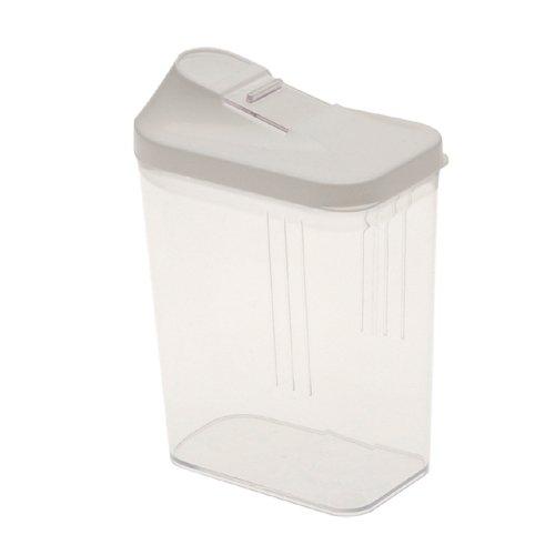 OKT 2053906 Boîte à Céréales Plastique Blanc 0,5 L