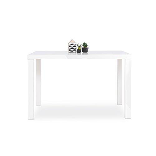 Esstisch-Esszimmertisch-Kchentisch-Schreibtisch-Primo-Hochglanz-wei-120x80-cm